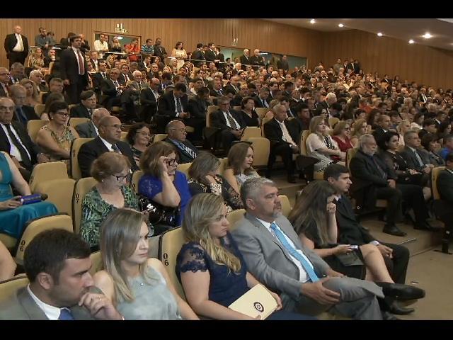Autoridades prestigiam posse da nova cúpula diretiva do TJ